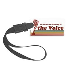 voice-id-rather Luggage Tag