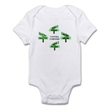 Contra Corners Infant Bodysuit