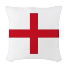 England-Multi_Dark Woven Throw Pillow