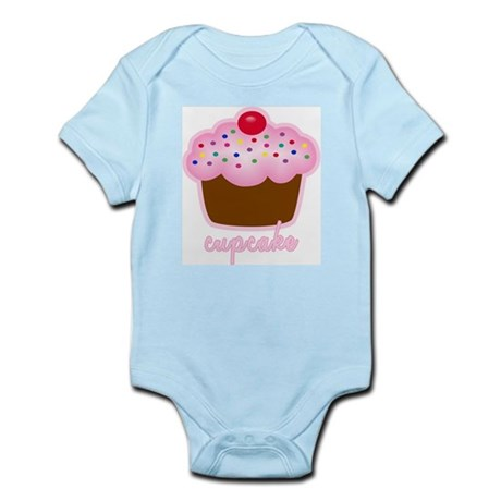 Cupcake Infant Bodysuit
