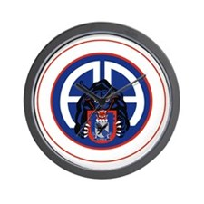 Panther v1_2nd-505th-White Wall Clock