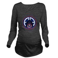 Panther v1_2nd-505th Long Sleeve Maternity T-Shirt
