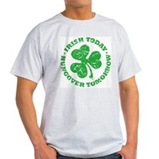 Tims St. Paddy's Day Shirt Ash Grey T-Shirt
