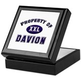 Property of davion Keepsake Box