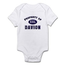 Property of davion Infant Bodysuit