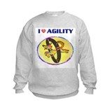 Agility Dog, Sweatshirt
