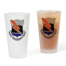 304th Signal Battalion Drinking Glass