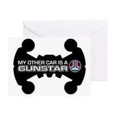 Other-Car-Gundar Greeting Card