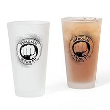 4 Shaolin Kung Fu Drinking Glass