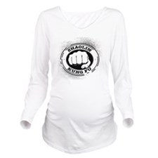 4 Shaolin Kung Fu Long Sleeve Maternity T-Shirt