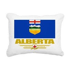 Alberta Flag (Flag 10) Rectangular Canvas Pillow