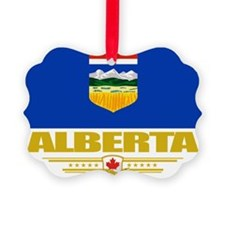 Alberta Flag (Flag 10) Ornament