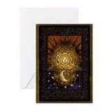 Sun moon Greeting Cards (10 Pack)