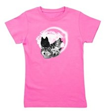 Wolves Moon 3 Girl's Tee