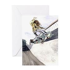 tailslide Greeting Card