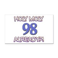 Holy Moly 98 already Rectangle Car Magnet