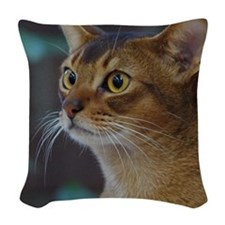 Abyssinian AA025D-018 Woven Throw Pillow