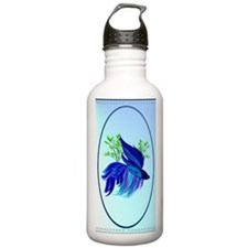 OvalJewelBig Blue Siam Water Bottle