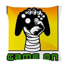 Game-On Woven Throw Pillow