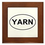 Yarn Framed Tile
