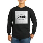 Yarn Long Sleeve Dark T-Shirt
