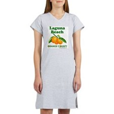 laguna-beach-design Women's Nightshirt