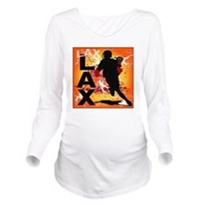 2011 Lacrosse 3 Long Sleeve Maternity T-Shirt