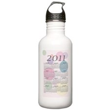 2011 Year at a Glance  Water Bottle