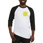 Yellow Owls Design Baseball Jersey