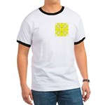 Yellow Owls Design Ringer T