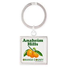 anaheim-hills-design Square Keychain