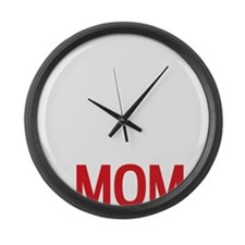 Mothers Day, Birthday - Master Ch Large Wall Clock