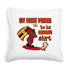 ugandan Square Canvas Pillow