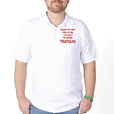 Tri_Harder_puke_rd T-Shirt
