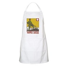 Swiss Army WWI War Poster Apron