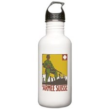 Swiss Army WWI War Pos Water Bottle