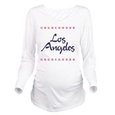 LosAngeles_10x10_Cal Long Sleeve Maternity T-Shirt