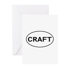 Craft Greeting Cards (Pk of 10)