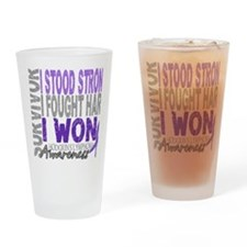 D Survivor 4 Lymphoma Hodgkins D Drinking Glass
