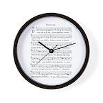 Dies Irae Wall Clock
