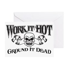 ground it dead 1 Greeting Card