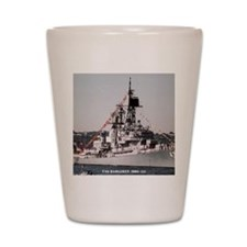 dahlgrenddg note card Shot Glass