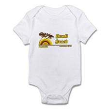 Cute Beach Infant Bodysuit