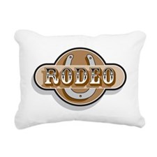 Rodeo Rectangular Canvas Pillow