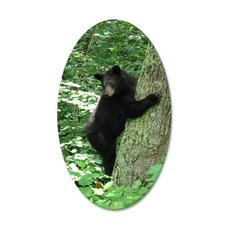 BearTree 35x21 Oval Wall Decal