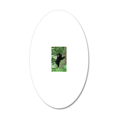 BearTree 20x12 Oval Wall Decal
