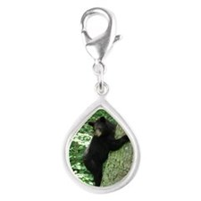 BearTree Silver Teardrop Charm