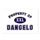 Property of dangelo Postcards (Package of 8)