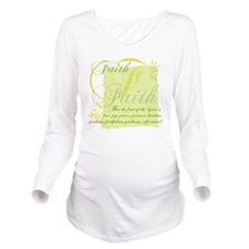 FruitFaith Long Sleeve Maternity T-Shirt