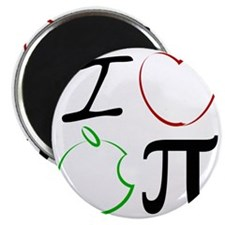 I Love Apple Pi Magnet